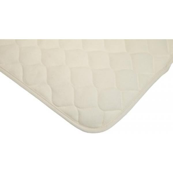 American Baby Company Waterproof Quilted Multi-Use Pad Cover made with Organic Cotton, Natural Color - intl