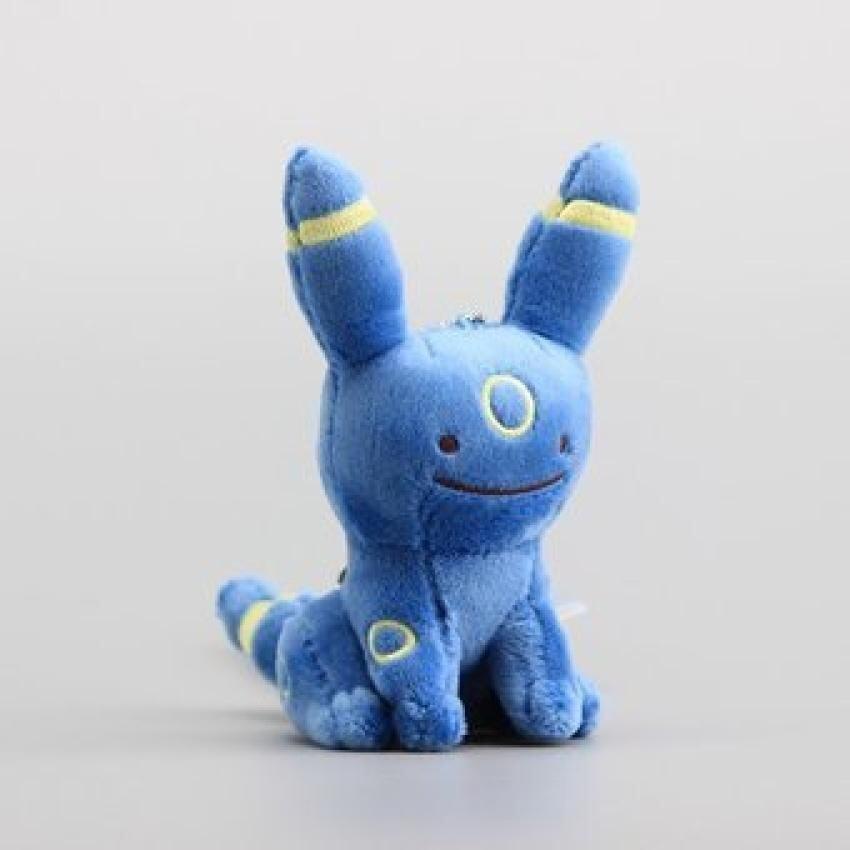 "Anime Ditto Umbreon Plush Dolls Ditto Metamon Stuffed Soft Toyscute Keychain 5"" 12 Cm -  ..."