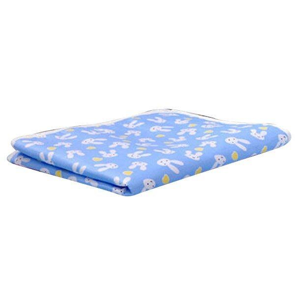 Baby Changing Pad Cotton Printed Cover Toddlers Waterproof Urine Mat Blue XL
