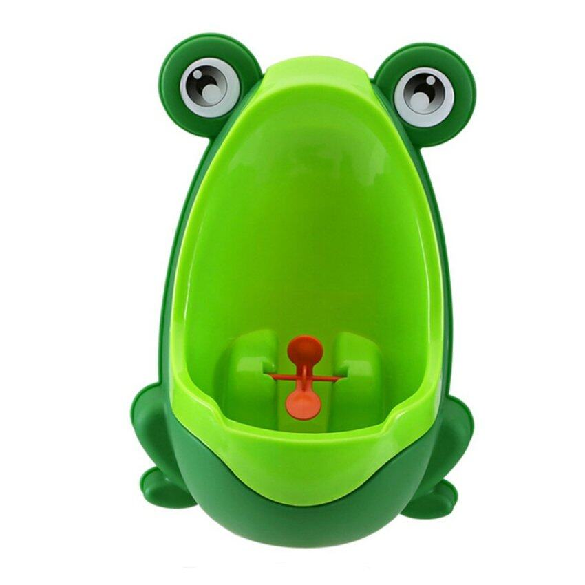 Baby Toddler Kits Children Toddler Kid Baby Boy Frog Potty Urinal Pee Toilet Bathroom Training - intl