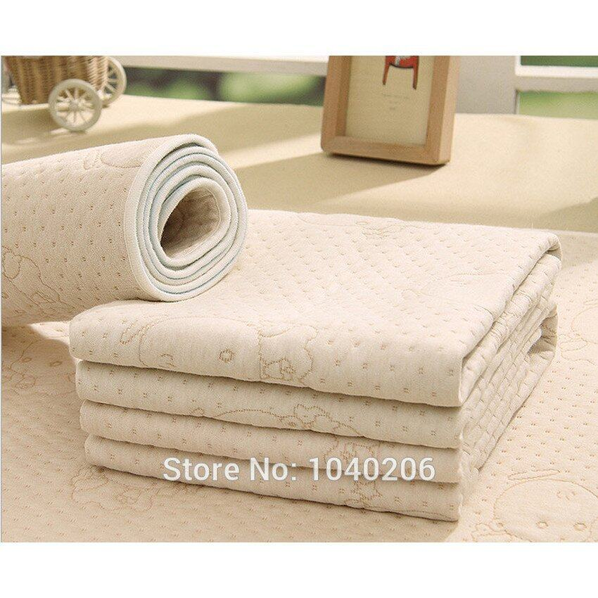 Baby Waterproof Sheet Mattress Washable Reusable Incontinence Padscolor Cotton Baby Changing Mat Waterproof Bed Pads - intl
