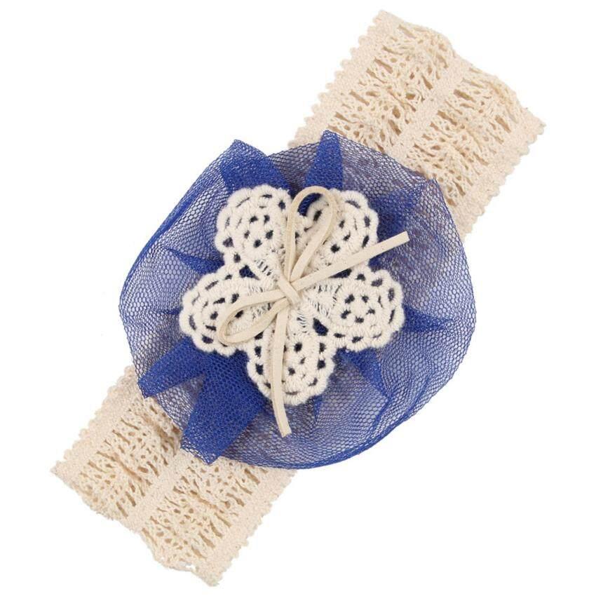 Bear Fashion Baby Girls Headband Head Floral Elastic Hair Band - intl ...