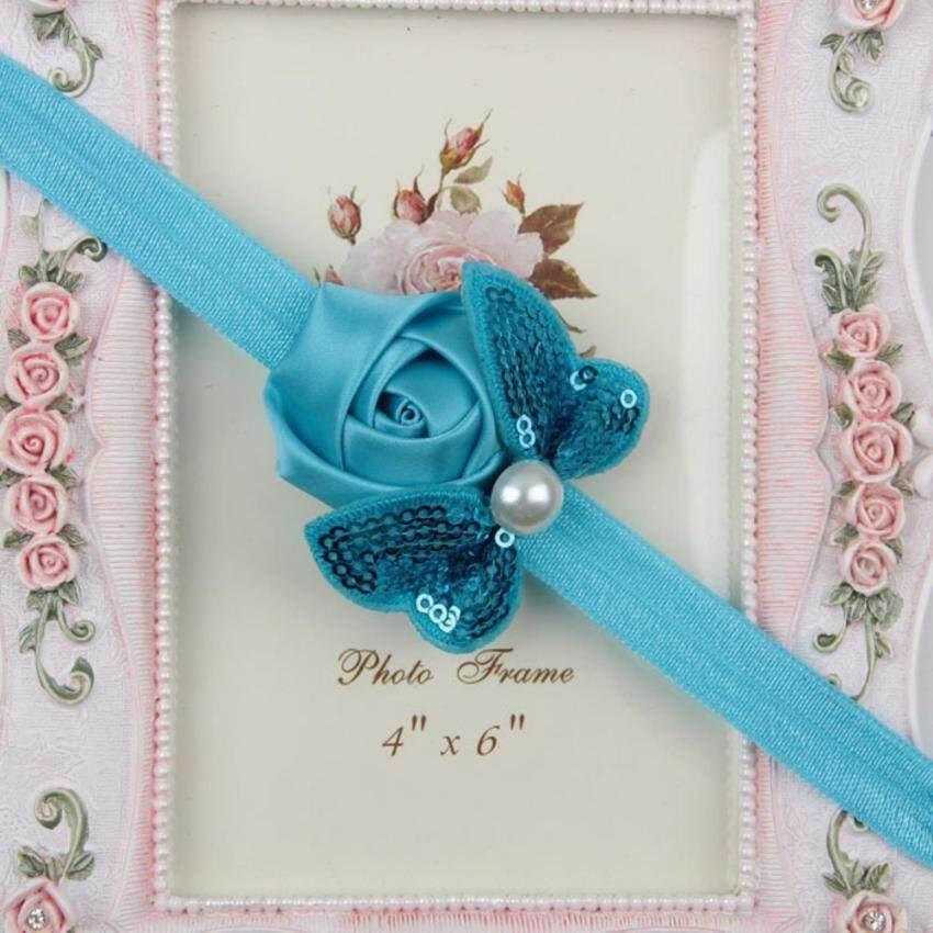 Bear Fashion Sequins Bow Headband Rose Children Hair Band Headdress - intl ...