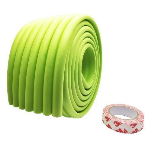 CSW แถบโฟมยางกันกระแทกขอบโต๊ะ แบบลูกคลื่น สีเขียว 3 ม้วน ...