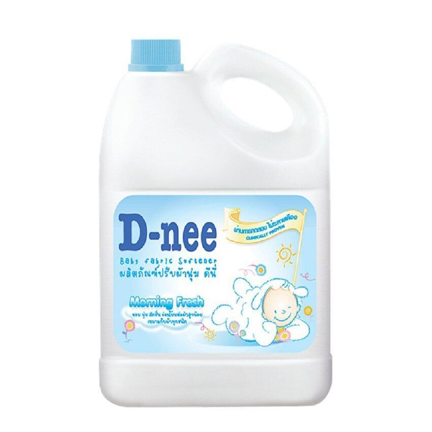 D-nee น้ำยาปรับผ้านุ่ม แบบแกลลอน 3000 มล. (สีฟ้า)