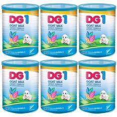 DG-1 Goat Milk Formula ดีจี1 โกลด์ มิลค์ สูตร1 นมแพะสำหรับเด็กแรกเกิด - 1 ปี 400 กรัม 6 กระป๋อง ลดราคา