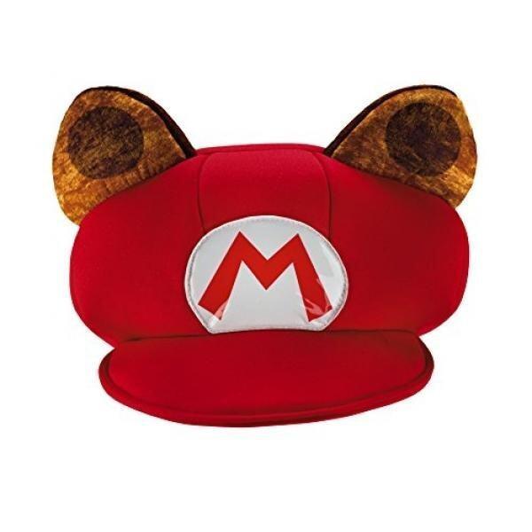 Disguise Mario Raccoon Super Mario Bros. Nintendo Child Hat, One Size Child, One Color - intl