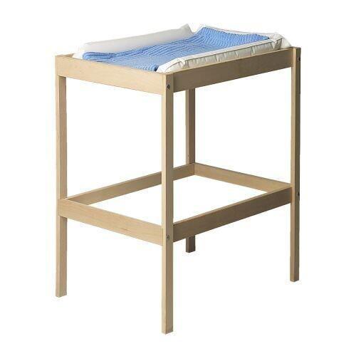 Ezy Decor โต๊ะเปลี่ยนผ้าอ้อม ไม้บีช (Beige)