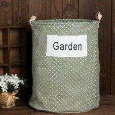 ขายด่วน Folding For Storage Toy Cart Storage Baskets Cotton And Linen Large Storage Barrels Waterproof Laundry Bucket - Garden - Intl ราคา 307 บาท(-71%) ...