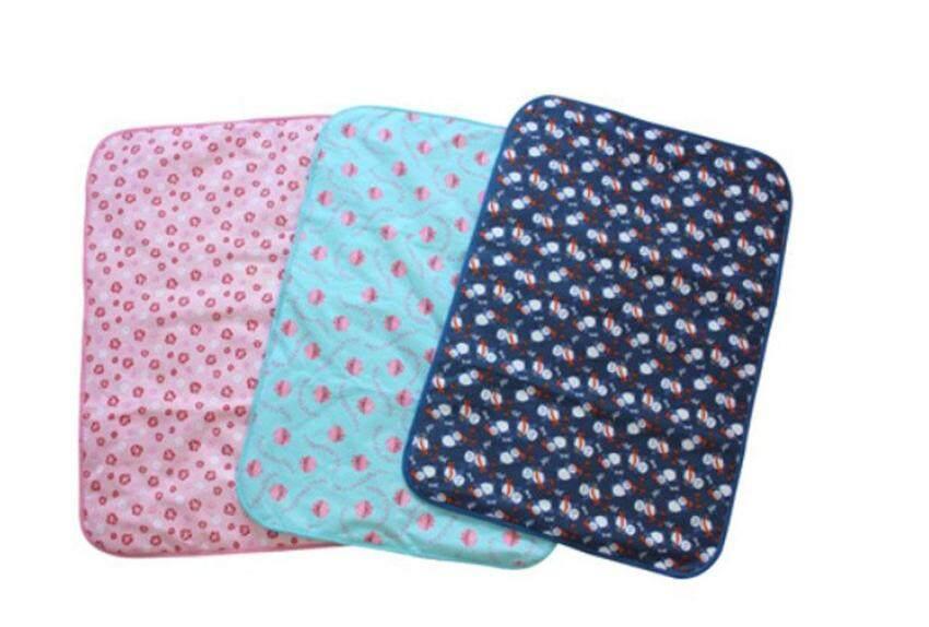 foorvof Baby Infant Reusable Cotton Cloth Waterproof Urinal Pad Cover Mat Mattress Pad,Small Size