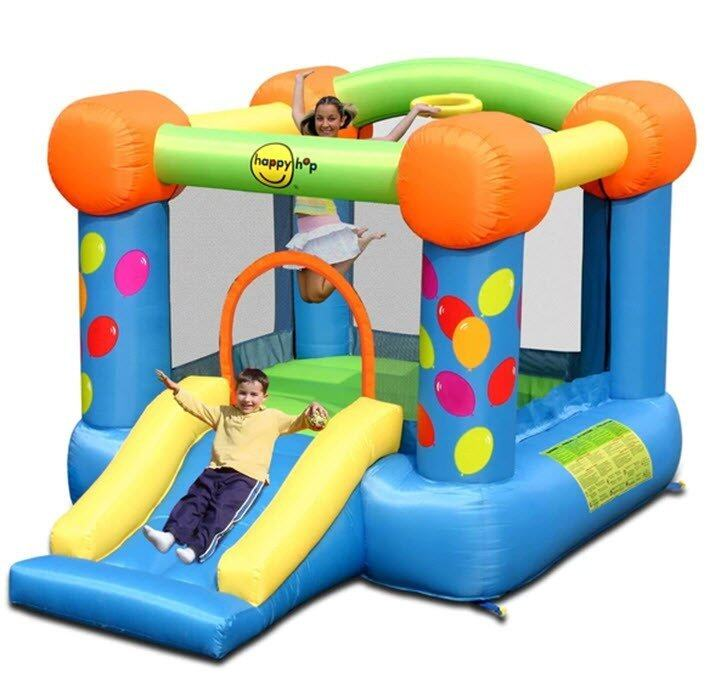 HAPPY HOP บ้านเป่าลม Inflatable house bounce castle party ...