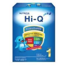 Hi-Q Prebio ProteQ 600g ไฮคิว พรีไบโอโพรเทก ช่วงวัยที่ 1 600 กรัม (สำหลับทารก อายุตั้งแต่แรกเกิด-1ปี) โปรโมชั่น