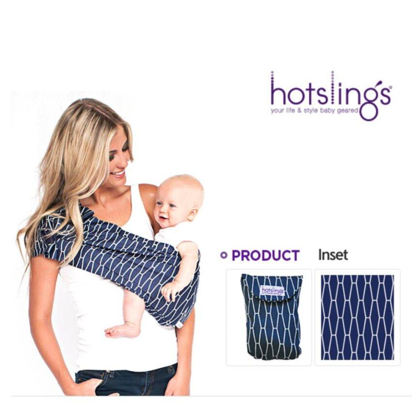 [Hotslings] Baby Wrap, Skin to skin Baby Carrier *Inset #Regular 58~69cm - intl