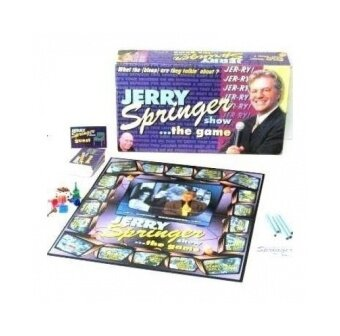 jerry springer show-the board game - intl