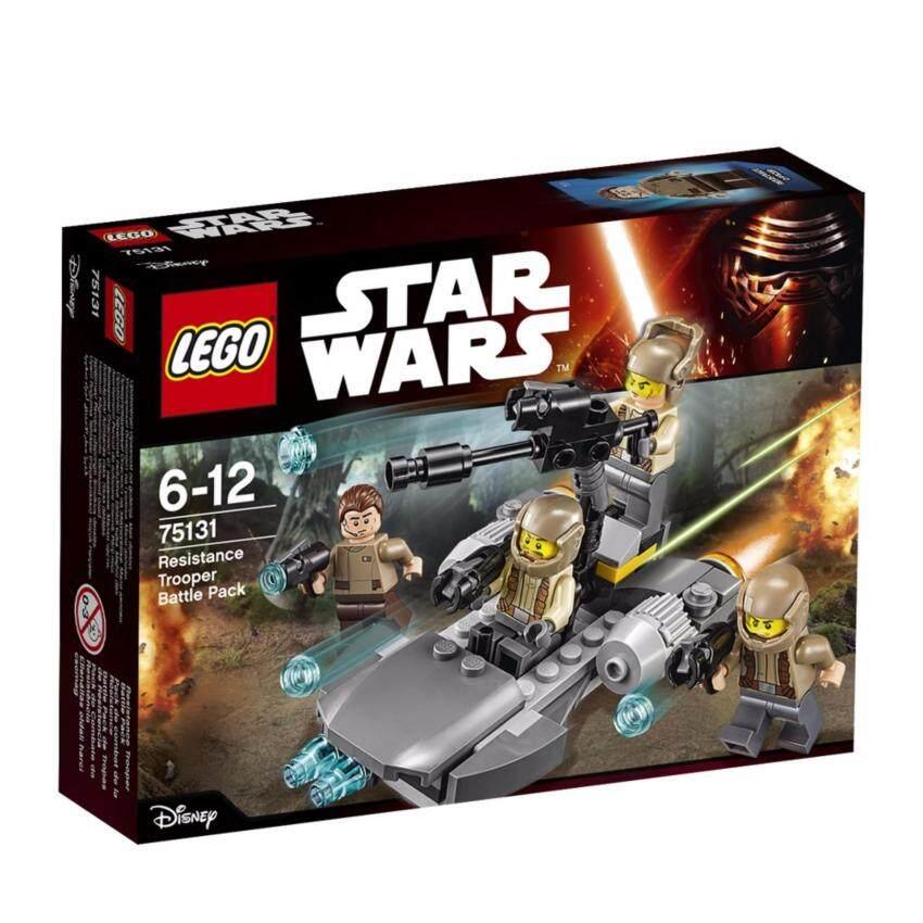 LEGO ตัวต่อเสริมทักษะ เลโก้ สตาร์วอร์ คอนฟิเดนเชียว แบทเทิล แพก เอสพิโสต 7 ฮีโร่ - 75131