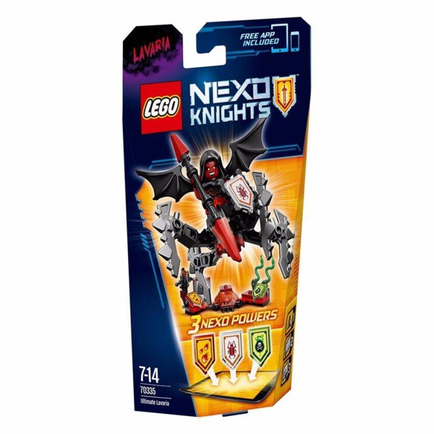 LEGO ตัวต่อเสริมทักษะ เลโก้ เลโก้ เน็กโซไนท์ ยูติเมท ลาวาเรีย - 70335