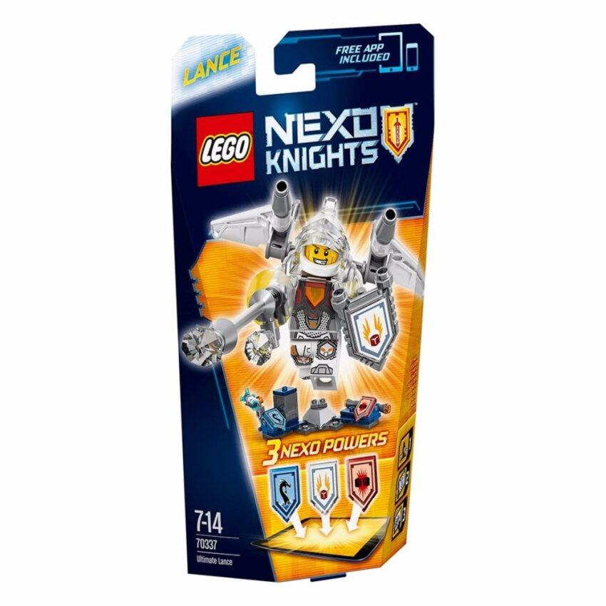 LEGO ตัวต่อเสริมทักษะ เลโก้ เน็กโซไนท์ ยูติเมท ลานซ - 70337