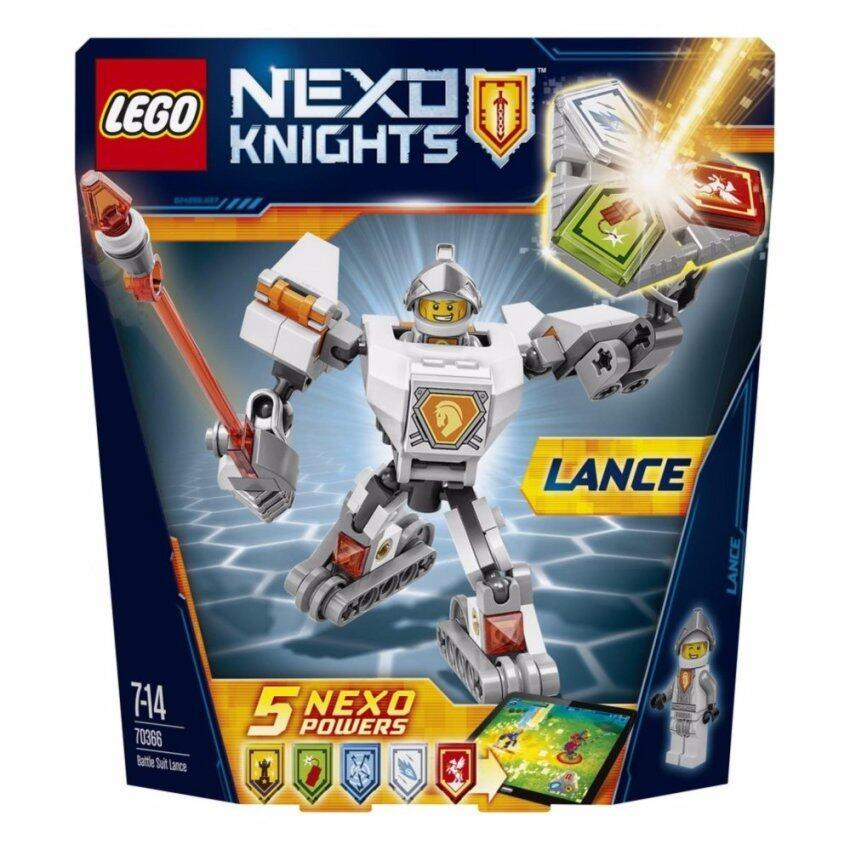 LEGO ตัวต่อเสริมทักษะ เลโก้ เน็กโซไนท์ แบทเทิล ชูท แอกแซล - 70366