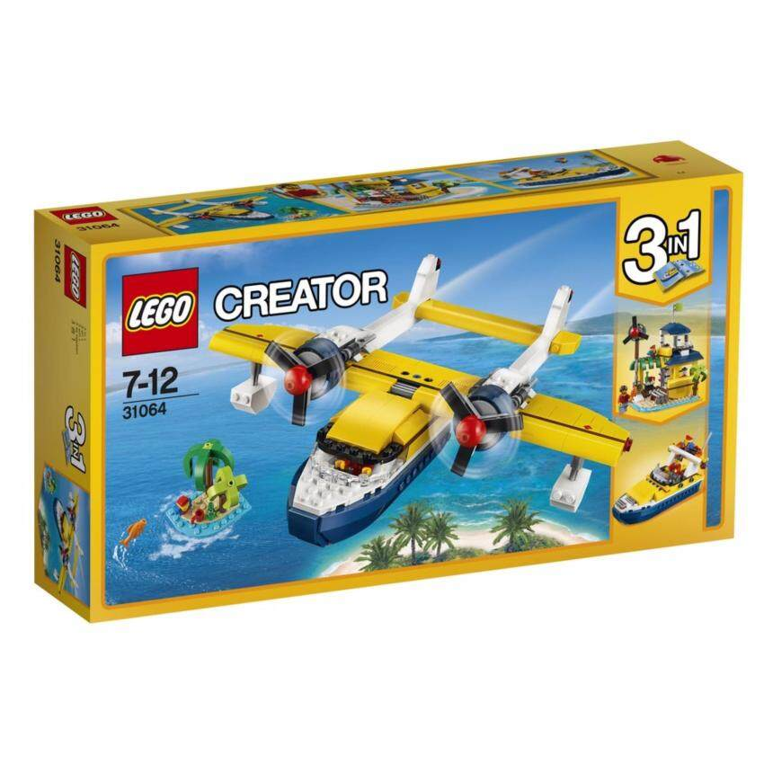 LEGO ตัวต่อเสริมทักษะ เลโก้ ครีเอเตอร์ ไอส์แลนด์ แอดเวนเจอร์ Island Adventures - 31064