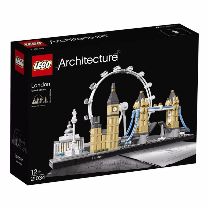 LEGO ตัวต่อเสริมทักษะ เลโก้ อาคิเทคเชอร์ London - 21034