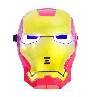 Mirage-Shop หน้ากาก LED ไอร่อนแมน แบบมีไฟ