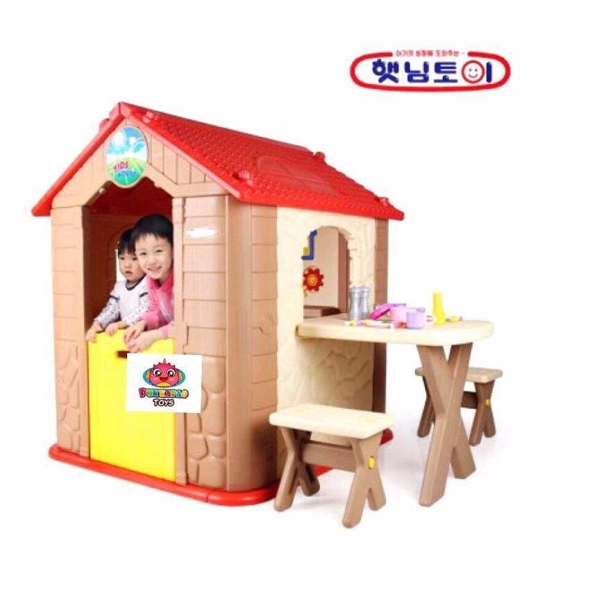 my first kid house บ้านเด็ก หลังใหญ่แข็งแรง แถมฟรีข้อต่อ 2 ชิ้น ใช่ต่อกับคอกกั้น haenim