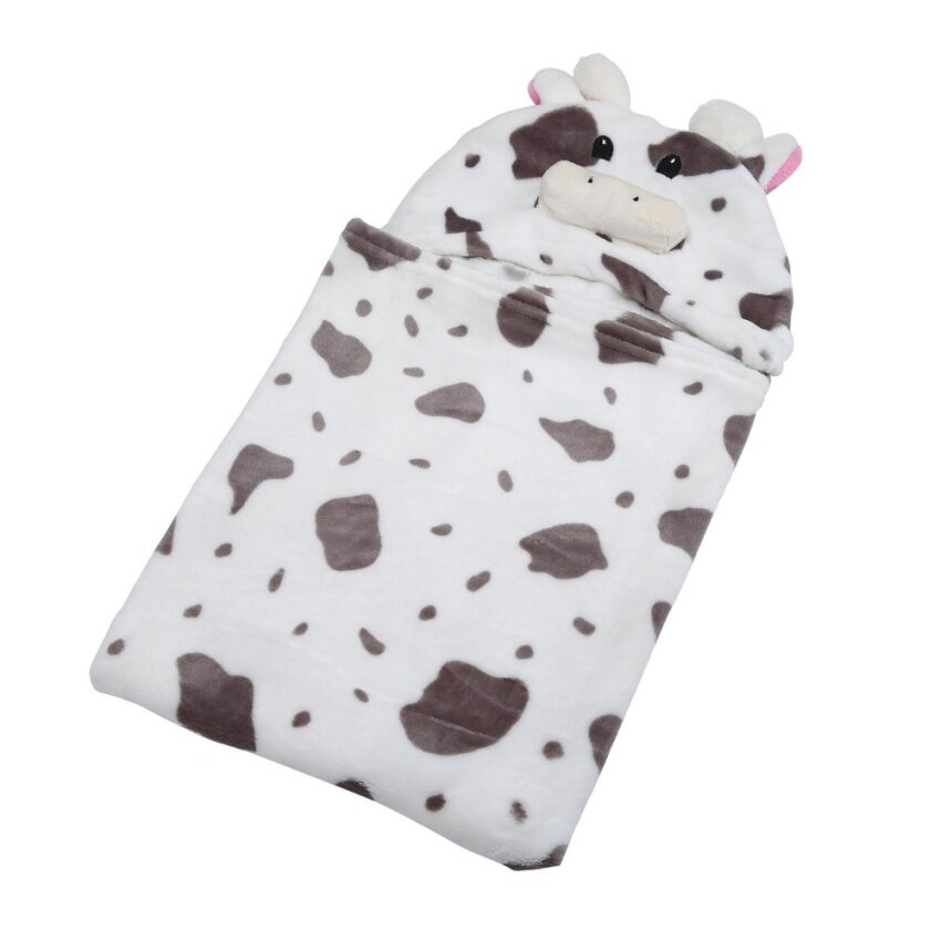 niceEshop 3D Cow Baby Infant Newborn Hooded Bath Towel Blankets - intl ...