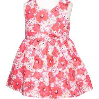 Pagadai Dress ชุดเดรสเด็ก ชุดกระโปรงเด็ก No.1 Fushia Blossom