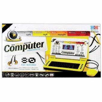 Play Us โน๊ตบุ๊ค80ฟังก์ชั่นจอสี +ที่ชาร์ต(กล่องสีเหลือง) มี Adapter รุ่น JD20268EC