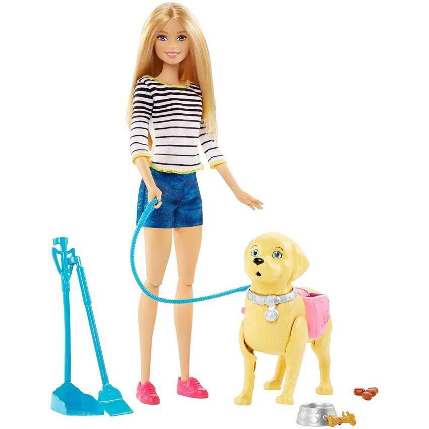 ตุ๊กตาบาร์บี้ฝึกเลี้ยงสุนัข(สุนัขตัวใหญ่ เดินได้ จูงได้) image