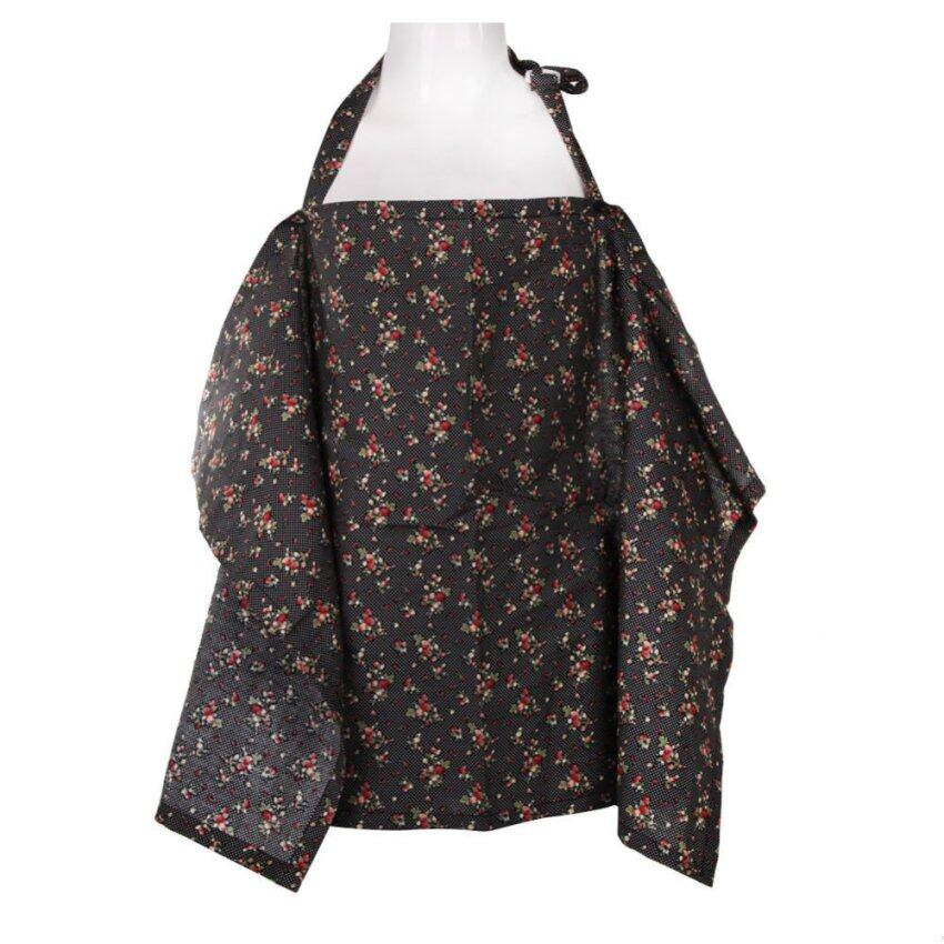 Special Promotion Baby Mum Breastfeeding Nursing Poncho Cover Up Cotton(Black Cherry) -  ...