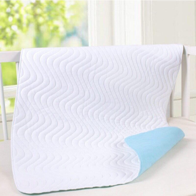 Super Absorbent Washable Reusable Incontinent Underpad Baby Elder Patient Infant Bed Urine Pad(140X90CM)