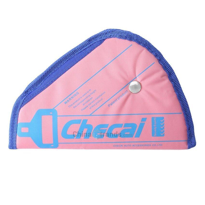 Washable Adjustable Shrink Proof Car Safety Seat Belt Cover Pad Strap Adjuster for Toddl ...