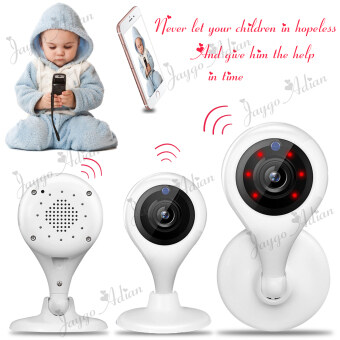 Wireless Security IP Camera WiFi Baby Pet Video Monitors 720p HD 100 MP Remote(White)