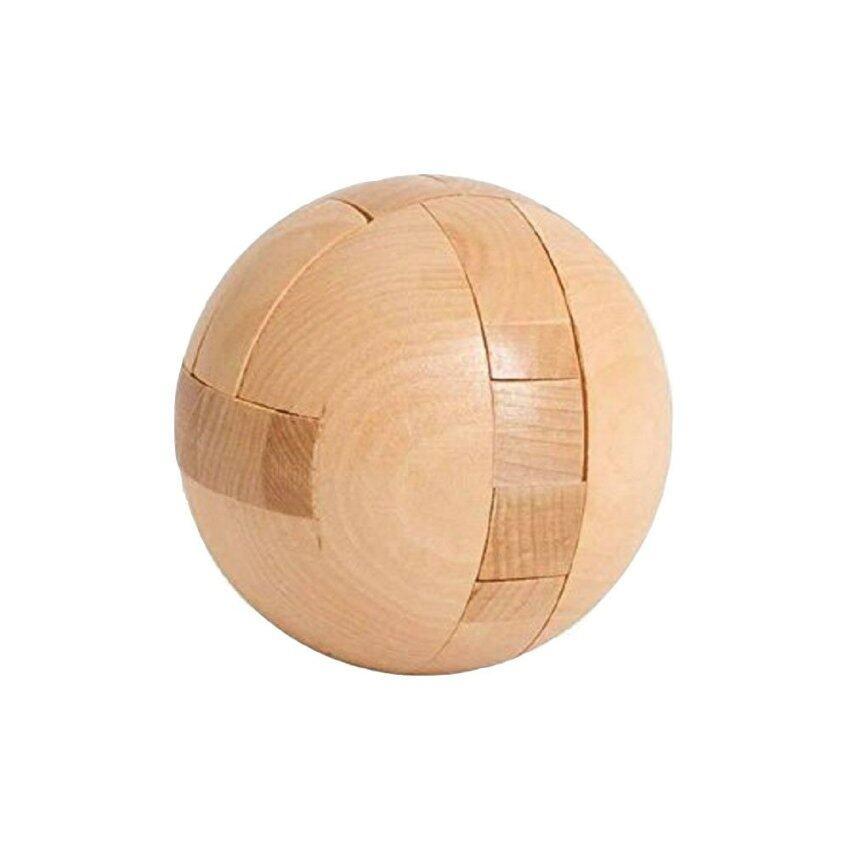 Wood Toy ของเล่นไม้ บอลแม่เหล็ก มายากล เกมส์ไม้ รุ่น T-000107 (สีน้ำตาล) ...