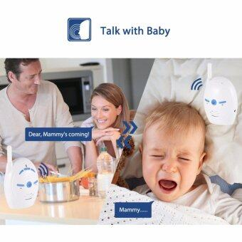 XCSOURCE 200m Digital Wireless Audio Baby Monitor 2-Way Talk Vioce Intercom Safety HS841 - intl