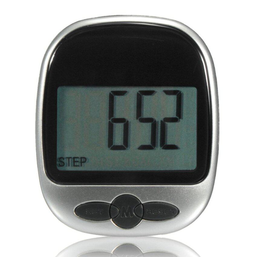 Audew LCD Multi-function Pedometer Monitor Step Distance Calories Measure Counter Diet - INTL