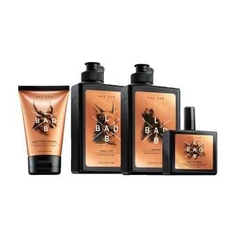 BAD LAB ครีมโฟมล้างหน้า+เจลอาบน้ำสูตรสดชื่น+แชมพูขจัดรังแค+สเปรย์ระงับกลิ่นกาย