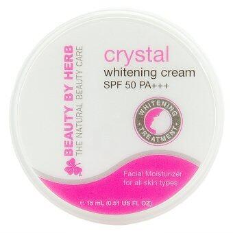 Beauty by Herb Crystal Whitening Cream SPF 50 PA+++ (ครีมหน้าขาวคริสตัล)