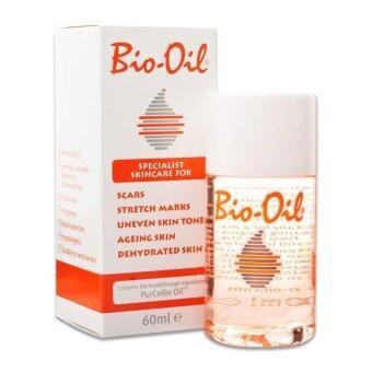 Bio Oil ลบรอยแผลเป็น ผิวแตกลาย ปลอดภัยเห็นผลไว 60ml.
