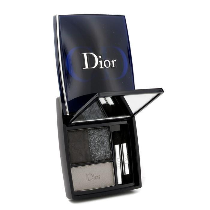Christian Dior 3 Couleurs Smoky Ready To Wear Eyes Palette - # 091 Smoky Black 5.5g/0.19oz