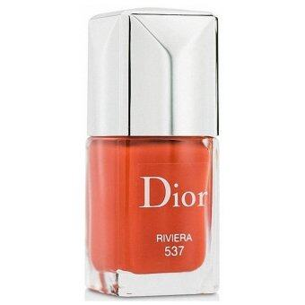 CHRISTIAN DIOR Dior Vernis Gel Shine and Long Wear Nail Lacquer 537 RIVIERA 10ml. (TESTER)