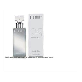 Eternity 25th Anniversary Edition for Women Calvin Klein for women 100 ml.