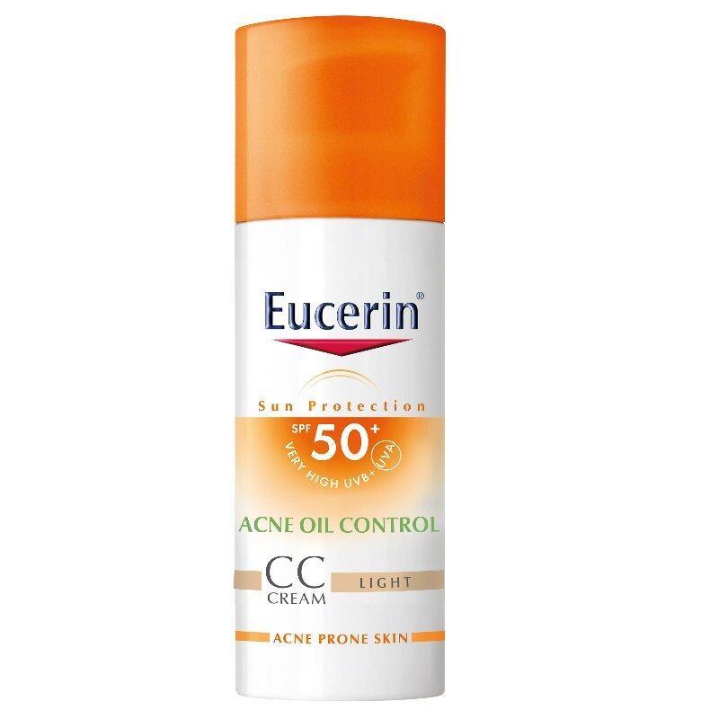 Eucerin ยูเซอริน ซัน ดรายทัช ซีซี ครีม SPF50