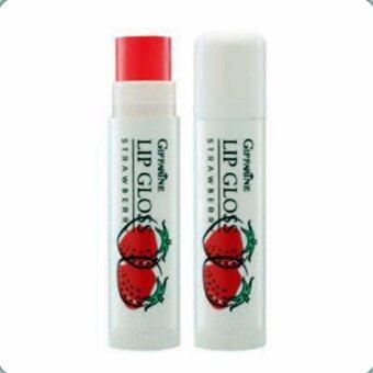ลิปกลอสกลิ่นผลไม้(สตรอเบอรี่) Giffarine Active Young Fruity Lip Gloss(Strawberry)