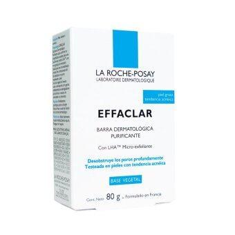 La Roche Posay Effaclar เอฟฟาคลาร์ สบู่ก้อน ( 80กรัม )