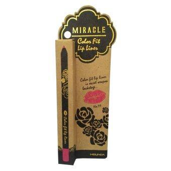 Mei Linda Miracle Color Fit Lip Liner #11 Fuchsia ( 1 แท่ง)
