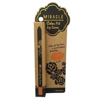 Mei Linda Miracle Color Fit Lip Liner #8 Peach ( 1 แท่ง)