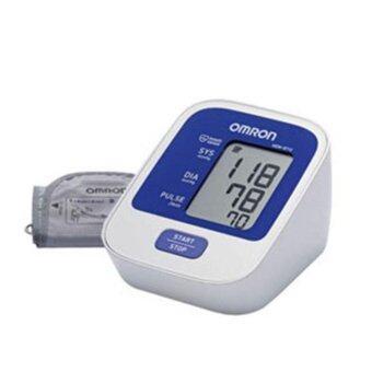 Omron เครื่องวัดความดัน รุ่น HEM-8712 แถมฟรี เทอร์โมมิเตอร์ Omron MC-245 /set (3 set )