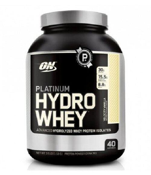 Optimum Nutrition Platinum Hydro Whey (40 serving)-- Velocity Vanilla ...
